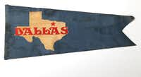 Dallas' long-lost official flag, designed in 1916 by Jane Malone and forgotten about for a century.((Irwin Thompson/Staff Photographer))