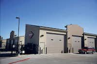 """<p><span style=""""font-size: 1em; background-color: transparent;"""">The view of the garages of Texas, a community of customizable garage suites, in Plano. &nbsp;Each space is plumbed, heated, and wired for phone, cable and Internet.</span></p>(<p><span style=""""font-size: 1em; background-color: transparent;"""">(Andy Jacobsohn/The Dallas Morning News)</span><br></p><p></p>)"""