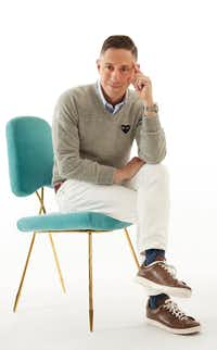 Designer Jonathan Adler made a December appearance in Dallas to talk about gift ideas((Courtesy Jonathan Adler) )