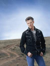 Country music star Randy Travis.