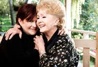 Carrie Fisher and her mother, Debbie Reynolds, at Fisher's home in Beverly Hills, Calif., Nov. 27, 2010. (Kevin Scanlon/The New York Times)(NYT)