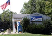 A U.S. Post Office in Millington, Illinois. (Chuck Berman/Chicago Tribune/MCT)(MCT)