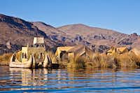 The floating island of Uro tribe on Lake Titicaca in Peru - this tribes lives on flowting islands for centuries - could not be conquered neither by the Incas nor the Spaniards.Getty Images/iStockphoto