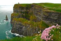 Ireland'•s Cliffs of Moher are among the most dramatic sites along the Wild Atlantic Way. CAmy Laughinghouse