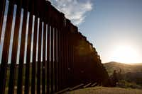 Nogales, Sonora, on the left is separated from Nogales, Ariz. , by the border fence. ((Courtney Pedroza/Special Contributor))