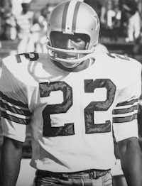 Dallas Cowboys wide receiver Bob Hayes. (Photo by Brad Bradley)