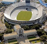 The Hall of State and the Cotton Bowl are just two of the iconic structures at Fair Park. (File Photo/Staff)