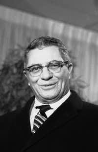 The great Vince Lombardi, who brought the Green Bay Packers to Fair Park on Jan. 1, 1967. (AP Photo/Marty Lederhandler, File)(AP)