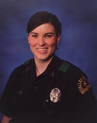 Senior Cpl. Michelle Herczeg, with the Dallas Police Department(The Dallas Police Department)