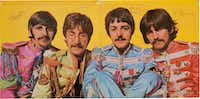 This photo provided by Heritage Auctions of Dallas shows a a copy of The Beatles' <i>Sgt. Pepper's Lonely Hearts Club Band</i> album autographed by all four band members.&nbsp;((Heritage Auctions))