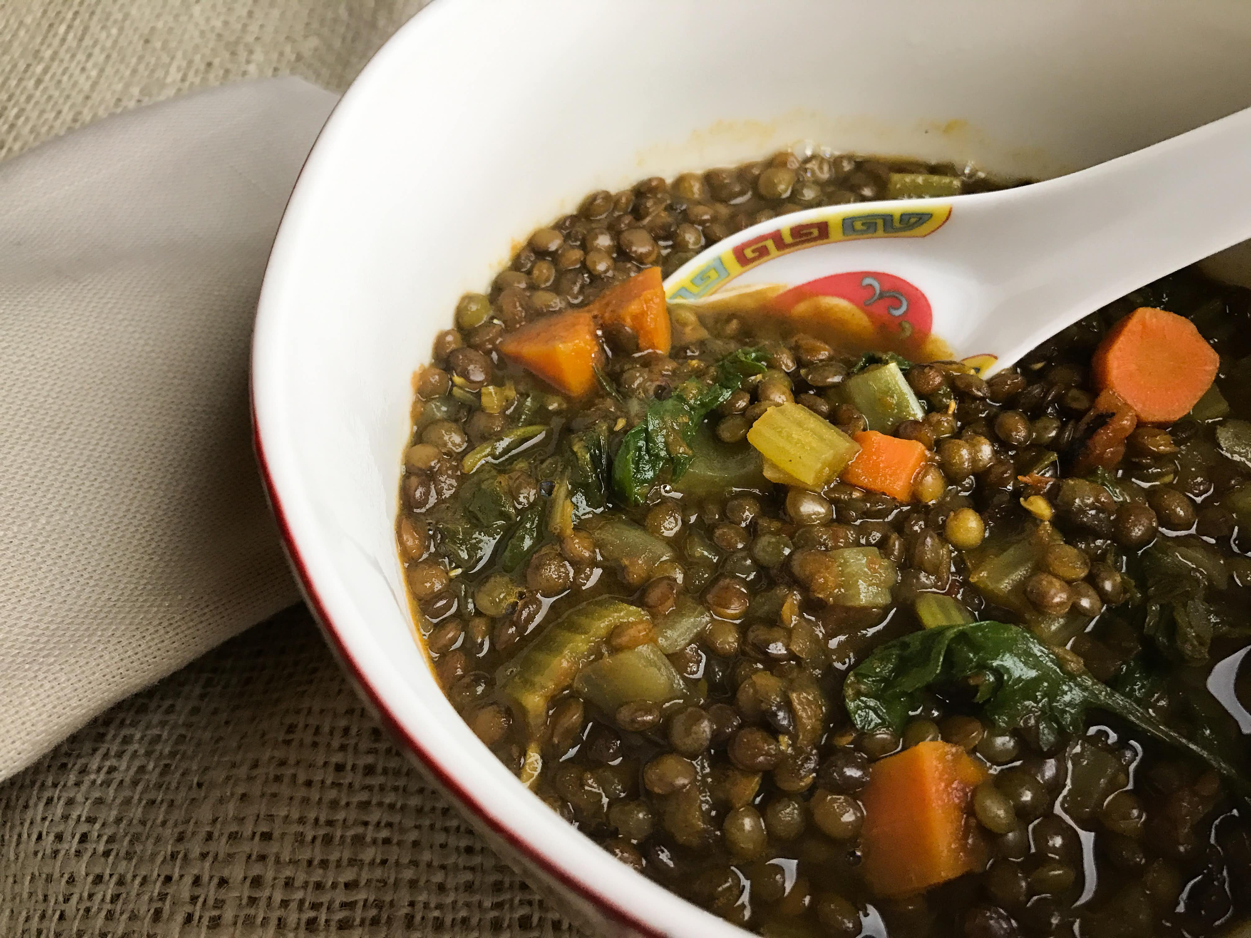 Post-holiday blahs? Make this easy, soulful super-detox lentil soup
