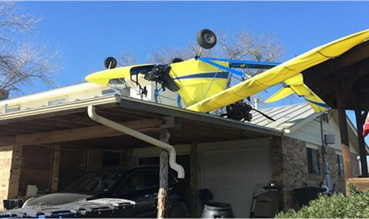 67 Year Old Pilot Crashes Ultralight Aircraft Into New