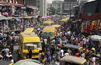 """<p><span style=""""font-size: 1em; background-color: transparent;"""">Lagos, with a population of about 20 million, is larger than many countries. It is the most commercially oriented part of Nigeria, and it grew so large only in the last few decades.</span></p>(Sunday Alamba/The Associated Press)"""