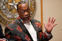 John Wiley Price (Nathan Hunsinger/Staff Photographer)