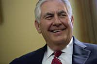 "Rex Tillerson is ""uniquely qualified"" to lead the State Department, Pickens says. (Andrew Harrer/Bloomberg News)"