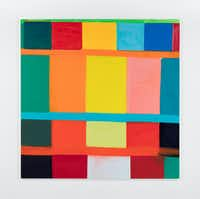 """<p><span style=""""font-size: 1em; background-color: rgb(255, 255, 255);"""">'</span><span style=""""font-size: 1em; background-color: transparent;"""">SunRa 2016' by Stanley Whitney, oil on linen (Courtesy the Modern Art Museum of Fort Worth) </span></p>"""