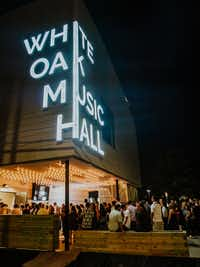 White Oak Music Hall, a new five-acre music venue in Houston's near Northside, features three different performance stages for live music acts.Julian Bajsel