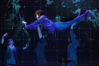 Adam Langdon stars in <i>The Curious Incident of the Dog in the Night-Tim</i>e, presented by AT&T Performing Arts Center at the Winspear Opera House in Dallas Jan. 11-22, 2017.(Joan Marcus)