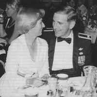 Congressman Sam Johson and his wife Shirley Melton Johnson.(Courtesy photo)