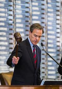 House Speaker Joe Straus' priorities include improving mental health treatment and funding. (2015 File Photo/Staff)