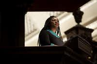 Alicia Garza popularized the phrase Black Lives Matter on social media. (Kayana Szymczak/The New York Times)