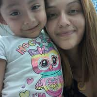 <p>Krystle Villanueva with her daughter, Giovanna Hernandez, whom she's accused of fatally stabbing and mutilating. </p>((Facebook))