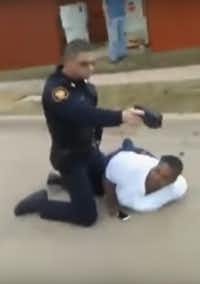 A video shows a Fort Worth police officer wrestling a mother to the ground while repeatedly pointing a stun gun. She had called police to report that a neighbor had choked her 7-year-old son for littering.