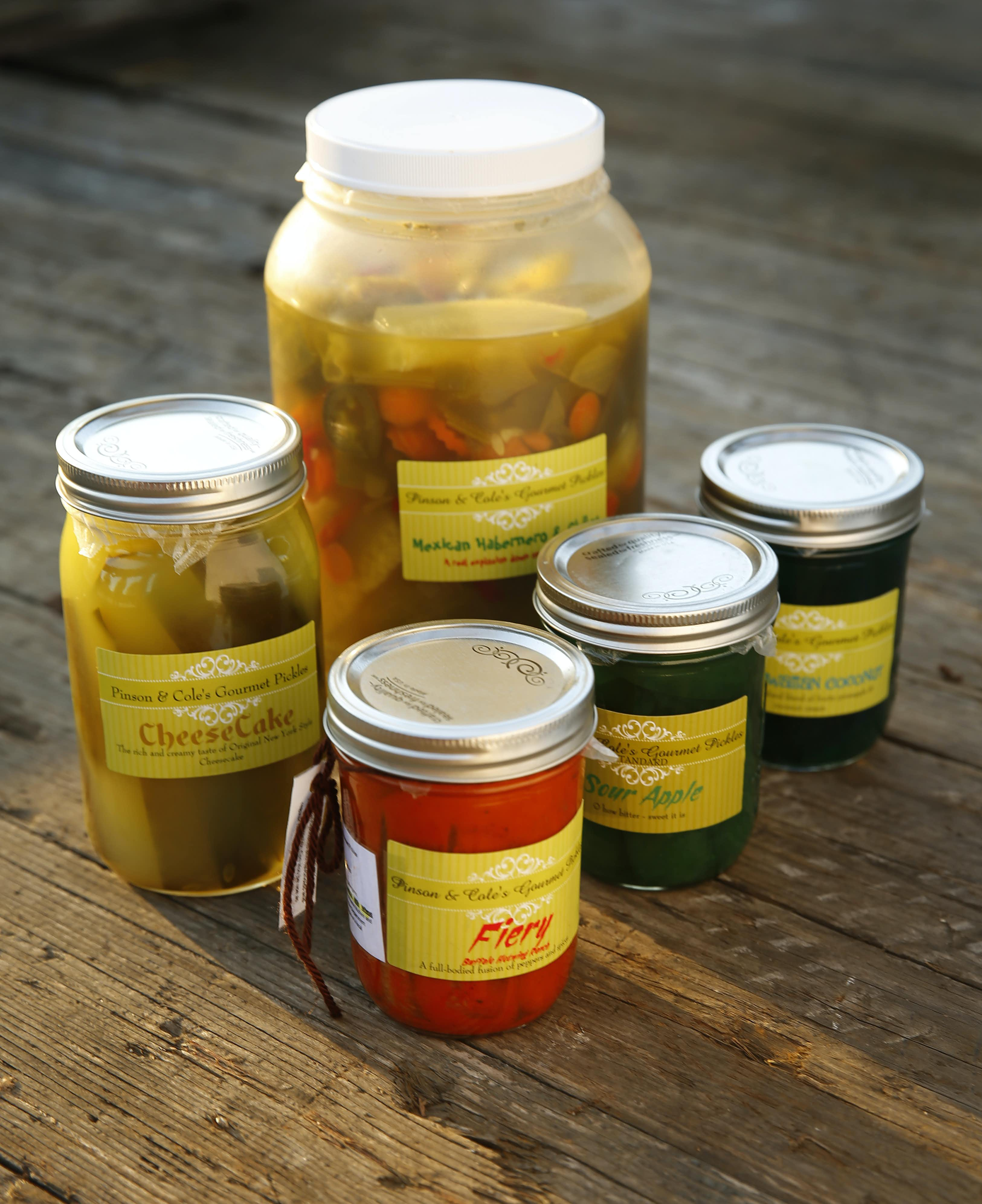 Pinson & Cole Pickles are sold at food festivals. Last year, its founder Stephanie Pinson-Cole said she sold out of cheesecake pickles at Taste of Dallas.Tom Fox/Staff Photographer
