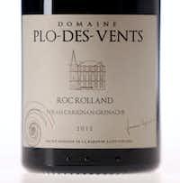 """<p><strong style=""""font-size: 1em; background-color: transparent;"""">Domaine Plo-des-Vents, Corbière AOP, Roc Rolland, Syrah-Carignan-Grenache 2011</strong></p>((Tom Fox/Staff Photographer))"""