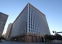 Earle Cabell federal courthouse in downtown Dallas, where a legal challenge to a child pornography case will be heard.