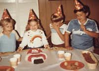 "<p><span style=""font-size: 1em; background-color: transparent;"">David Weigand (right), a West Virginia native, ​​​at a birthday party when he was around 11 years old. He was a die hard Dallas Cowboys fan who never got to see his team play in person.</span></p>"