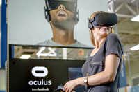 Facebook bought virtual reality company Oculus in 2014. The company 's headset is called the Oculus Rift. (Associated Press)