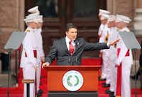 <p>IN 2011, Rick Perry made the most of his moment, delivering his final inaugural address in what would be a record-setting 14-year stint as Texas governor. Presumably, he'll be in Washington on Friday to witness Donald Trump's inauguration as the 45th president, given that he's set to join Trump's cabinet. But two years prior to the speech above, Perry couldn't be bothered to even watch on television Barack Obama's inauguration. </p><p><p></p><p>Michael Ainsworth/The Dallas Morning News</p></p>