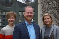 "From left: Lori Feathers, Jeremy Ellis and Nancy Perot of Interabang Books(<p><span style=""font-size: 1em; background-color: transparent;"">Jake Harris</span><br></p><p></p>)"