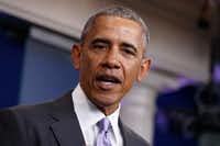 President Barack Obama has been a frequent foe of Scott Pruitt and other Republican attorneys general. (Evan Vucci/The Associated Press)