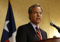 A file photo of Texas House Speaker Joe Straus in Cleveland, Ohio on Tuesday, July 19, 2016. (Vernon Bryant/The Dallas Morning News)(Staff Photographer)