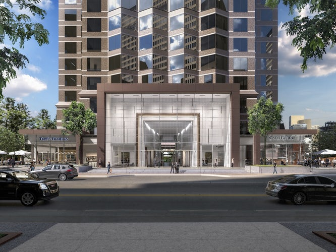 Downtown's Trammell Crow Center Tower Gets A Redo And ...
