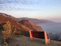 Take in the beautiful vistas while  walking at New Camaldoli Hermitage in Big Sur, Calif.(Tina Danze)