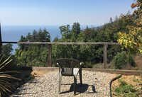 Each room at New Camaldoli Hermitage in Big Sur, Calif. has a  backyard with a garden and an ocean view. Tina Danze