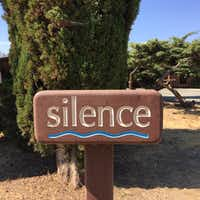 Silence is required while visiting New Camaldoli Hermitage, Big Sur, Calif.Tina Danze