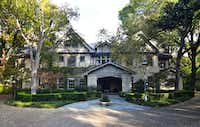 The Trammell Crow home at 4500 Preston in Highland Park. (Allie Beth Allman)