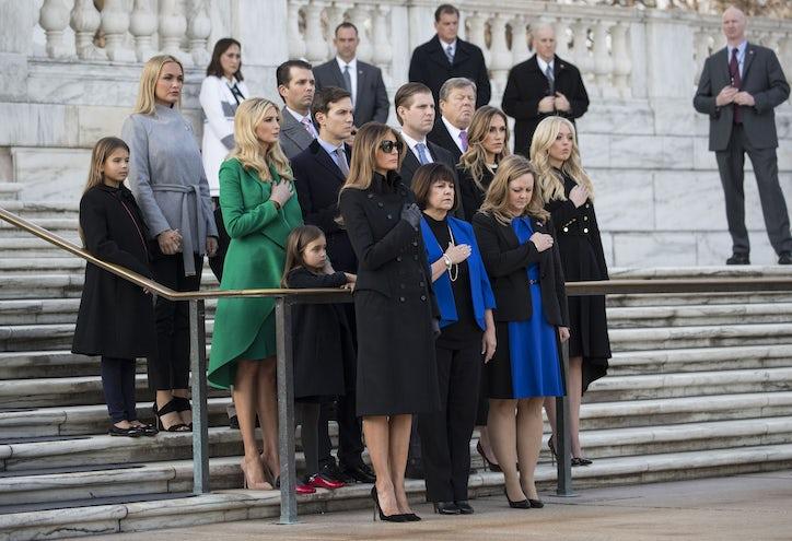 Photos Mr Trump Goes To Washington Pre Inaugural
