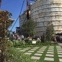 A view of the new entrance at Magnolia Market at the Silos in Waco(Maria Halkias)