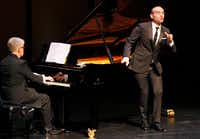 Familiar songs by Strauss got Fabiano's signature intensity, but less would have been more. (Ben Torres/Special Contributor)