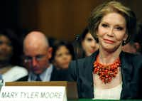 A 2009 file photo of actress Mary Tyler Moore(AFP/Getty Images)