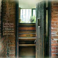 CD cover of the Jackson Browne tribute album produced by Kelcy Warren's Music Road Records.