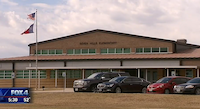 Seven Hills Elementary, in Newark, Wise County.<br>(KDFW-TV)