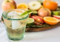 Vanilla Lime Soda((Rebecca White))