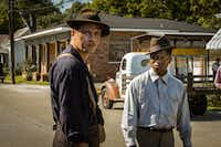 "Garrett Hedlund and Jason Mitchell appear in ""Mudbound"" by Dee Rees, an official selection of the Premieres program at the 2017 Sundance Film Festival(Steve Dietl)"