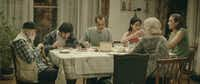 "Goven Cheishvili, Giorgi Tabidze, Merab Ninidze, Tsisia Qumsishvili, Berta Khapava and Giorgi Khurtsilava appear in ""My Happy Family"" by Nana Ekvtimishvili and Simon Gross, an official selection of the World Cinema Dramatic Competition at the 2017 Sundance Film Festival."
